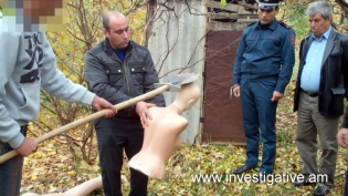 16 year-old man arrested on suspicion of committing murder in Yeghegnadzor confessed another murder committed by him (Photos)