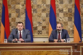 Prime Minister Introduced Newly Appointed IC Chairman Hayk Grigoryan to Staff of Investigative Committee (photos)
