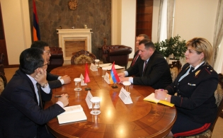 Chairman of Investigative Committee Received Ambassador of People's Republic of China in Armenia (photos)