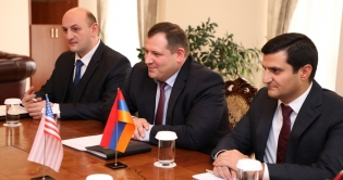 Chairman of RA Investigative Committee Hayk Grigoryan Received Delegation of U.S. Embassy in Armenia