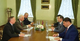 Chairman of RA Investigative Committee Had Working Meeting with Chairman of RF Investigative Committee (photos)