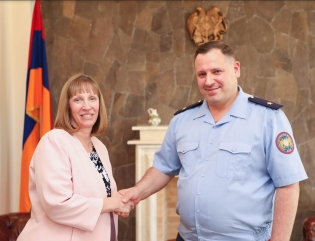RA IC Chairman Hayk Grigoryan received Ambassador Extraordinary and Plenipotentiary of the U.S. to Armenia Lynne Tracy (photos)