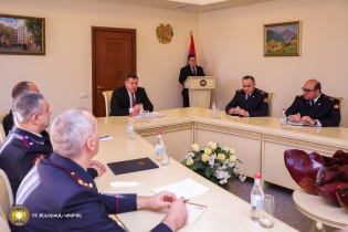 RA IC Chairman Hayk Grigoryan Held Consultation (photos)